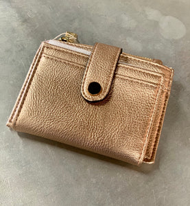 Rose Gold Mini Wallet