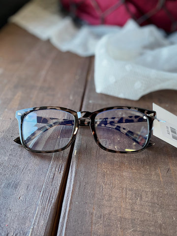 Clear Tortoise Blue Light Glasses