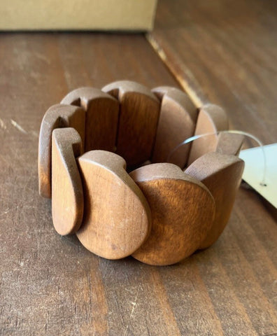 Wooden Stretch Bracelet