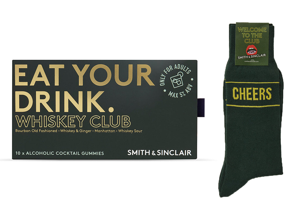 Whiskey Club Gift Set