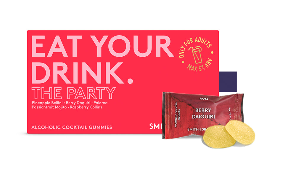 The Party Alcoholic Cocktail Gummies