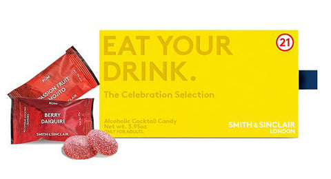 The Celebration Box of Alcoholic Cocktail Gummies