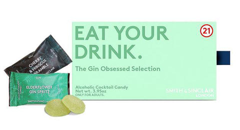 The Gin Obsessed Box of Alcoholic Cocktail Gummies