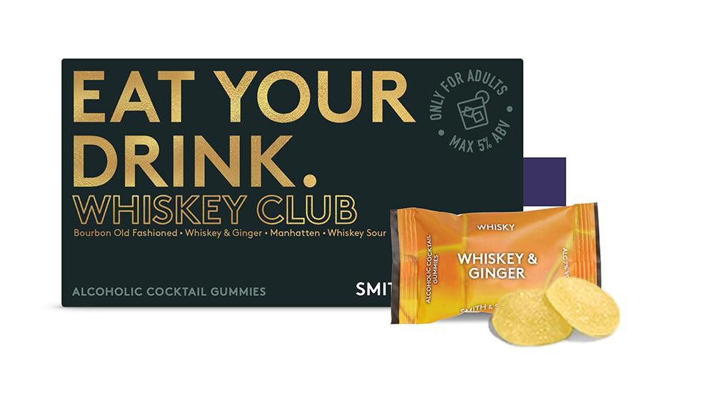 Whiskey Club Alcoholic Cocktail Gummies
