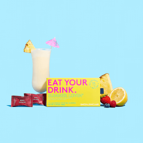 Summer Lovin' Alcoholic Cocktail Gummies
