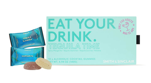 Tequila Time Alcoholic Cocktail Gummies