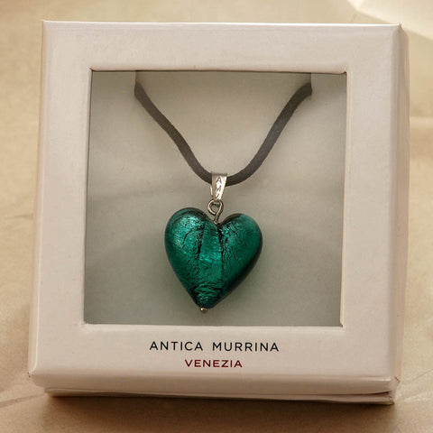 Antica murrina cuore matto heart pendant mozeypictures Choice Image