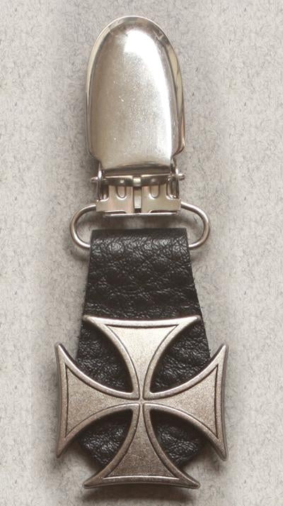 J122-8 Boot Clips Iron Cross