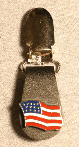 J122-26 Boot Clips US Flag