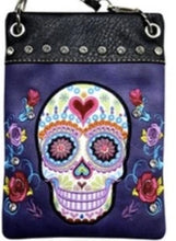 Load image into Gallery viewer, CHIC902-PRPL Skull design