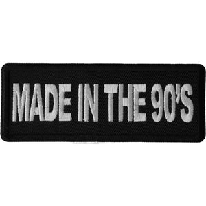 P6677 Made in the 90s Novelty Iron on Patch