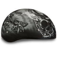 Load image into Gallery viewer, D6-G D.O.T. DAYTONA SKULL CAP - W/ GUNS