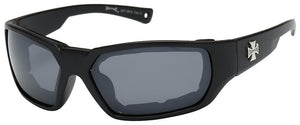 8CP927-MIX Choppers Foam Padded Sunglasses - Assorted - Sold by the D