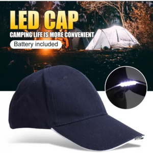 Mantis LED Vision Night Cap/Hat - Batteries