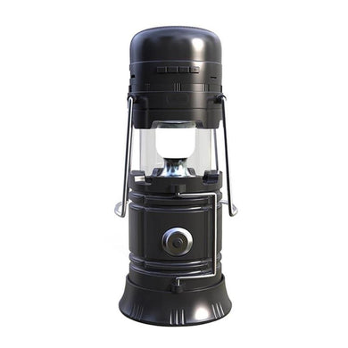 Retro Lantern Multi Functional with LED Lamp - Flash Light - Portable Wireless Speakers - Solar Recharge
