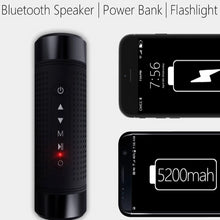 Load image into Gallery viewer, SUPER FLASHLIGHT With Added BONUS Smart Outdoor Speaker