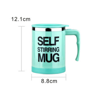 The Lazy Persons Automatic Stirring Coffee Mug