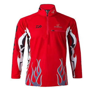 Men's Flame Design Shirt