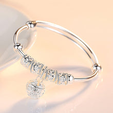 Load image into Gallery viewer, Silver Bell Bangle