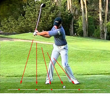 Load image into Gallery viewer, Golf Swing Laser Plane Trainer