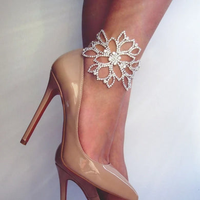 Ornate Designer Ankle Bracelet