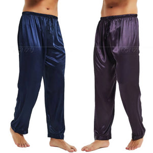 Men's Silk Satin Lounge Pants