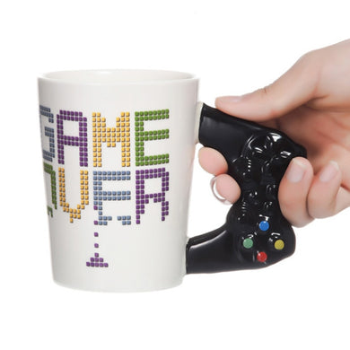 Game Over Controller Handle Mug