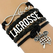 Load image into Gallery viewer, Lacrosse Infinity Bracelet