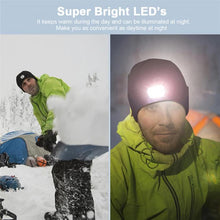 Load image into Gallery viewer, Mantis LED Night Vision Beanie - Rechargeable