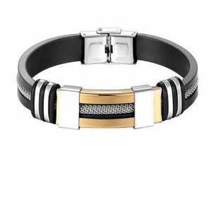 Men's Stainless Steel Closed Bracelet