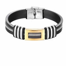 Load image into Gallery viewer, Men's Stainless Steel Closed Bracelet