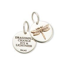 Palas Jewellery Dragonfly Charm