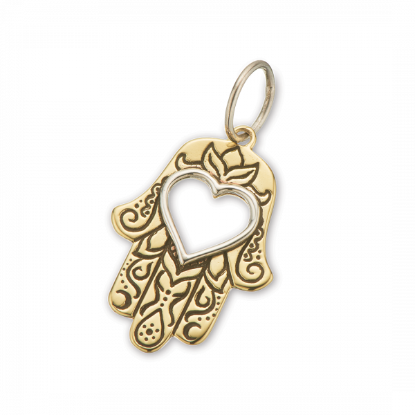 Palas Hamsa Hand Of Protection Charm