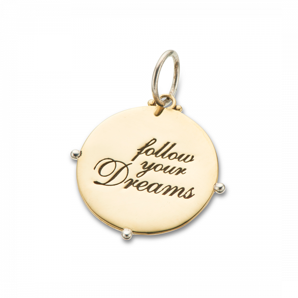 Palas Follow your dreams charm