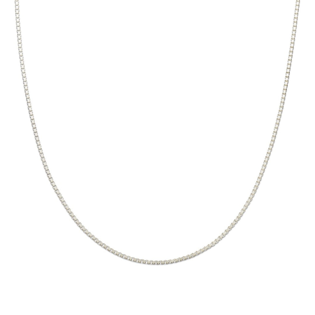 Palas Jewellery Silver Box Chain 46cm