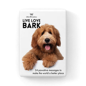 Little Affirmations Live Love Bark Card Set