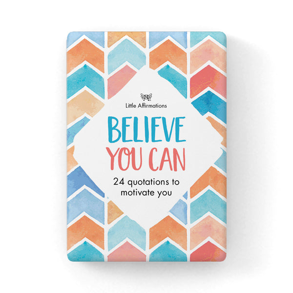 Positive Affirmations  Believe You Can Cards