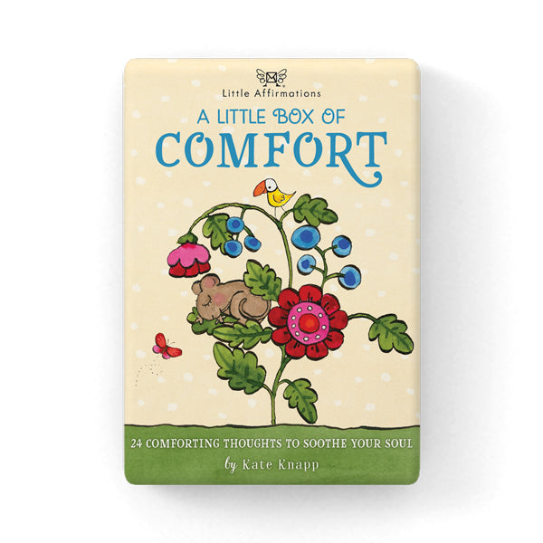 A Little Box of Comfort Inspiration Cards