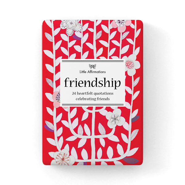 Little Affirmations Card Set -Friendship