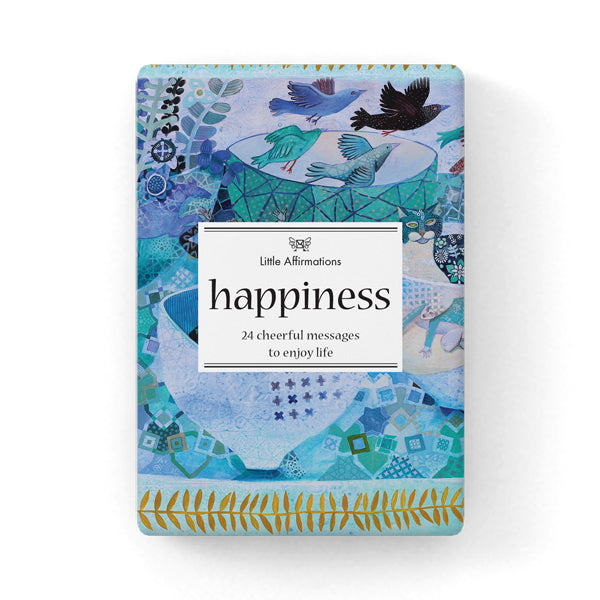 Happiness Positive Affirmation Cards