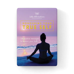Honouring Your True Self Affirmation Cards