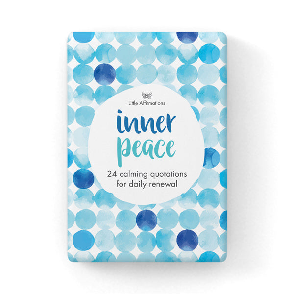 Little Affirmations Card Set -Inner Peace
