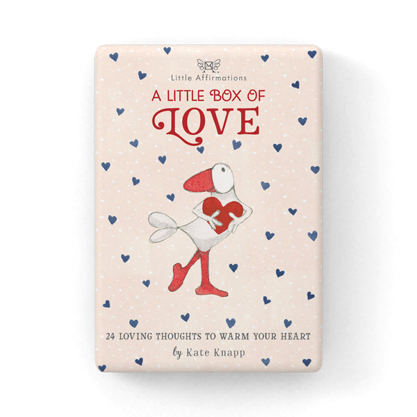 Little Affirmations Card Set-Little Box Of Love