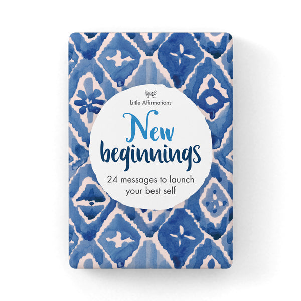 Little Affirmations Cards Set-New Beginnings