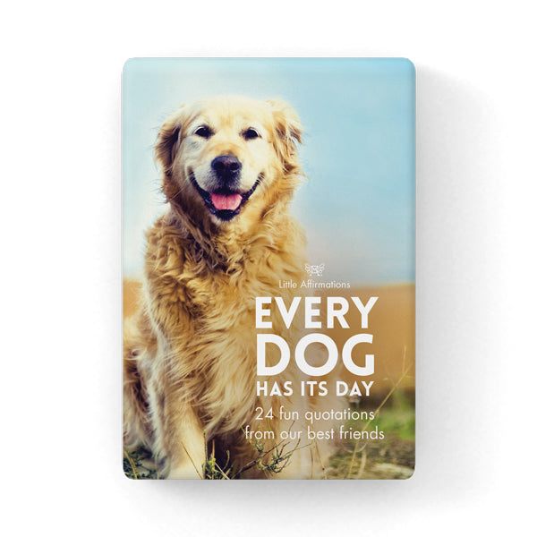 Little Affirmations Every Dog Has Its Day Gift Card Set