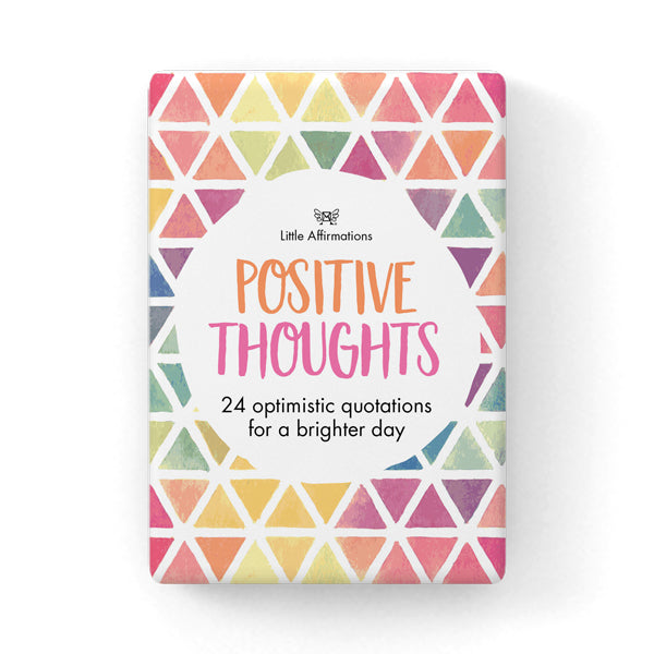 Positive Affirmations Thought Cards