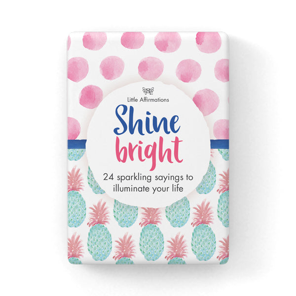 Little Affirmations Card Set-Shine Bright