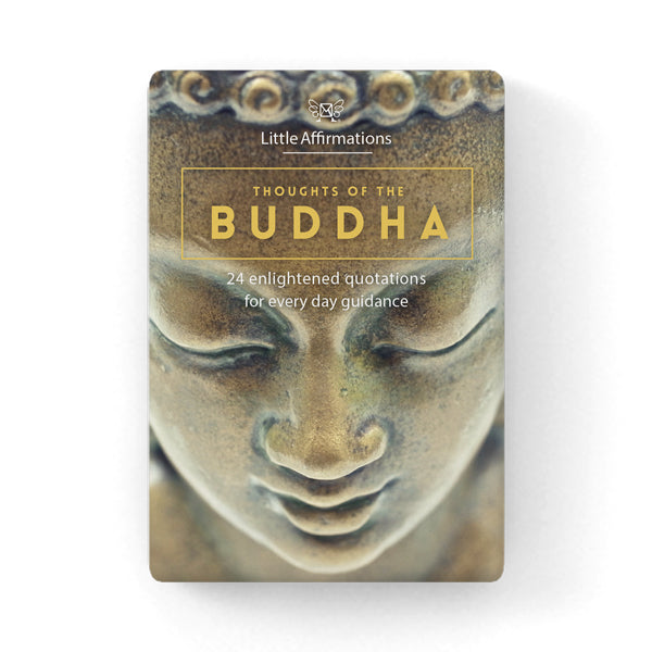Thoughts of the Buddha Spiritual Cards