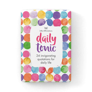 Little Affirmations Daily Tonic Affirmation Cards