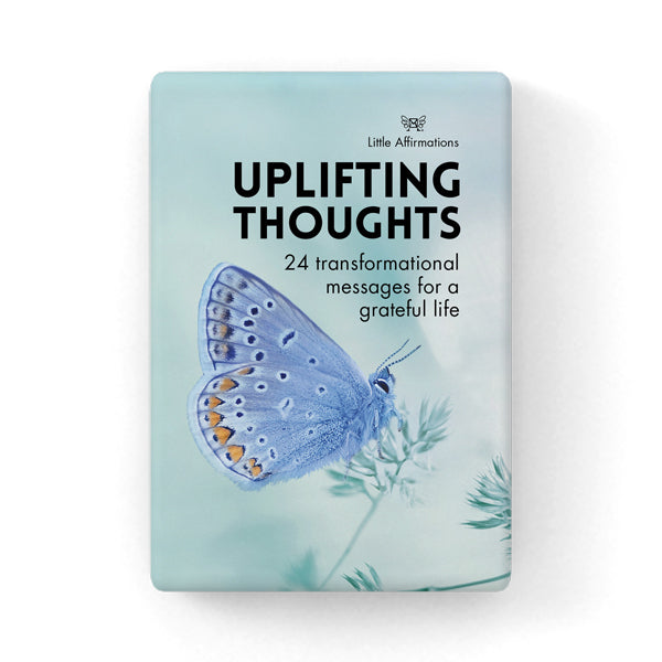 Uplifting Thoughts Inspirational Cards